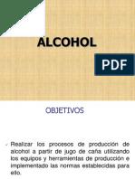 Produccion de Alcohol