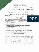 A Classifications Quadratic Vector Functions