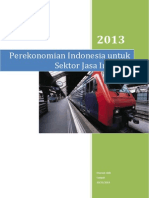 Makalah Perekonomian Indonesia Untuk Sektor Jasa Industri(YANG DAH RAPI)