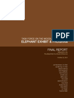 FULL FINAL REPORT -Task Force on WPZ Elephant Exhibit and Program