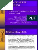 Bomba de Ariete Hidraulico