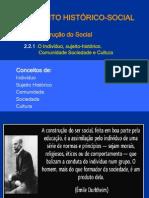 2.1. A Construção do Social