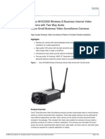 Camara IP Cisco WVC2300