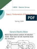 Fundamentals of Electric Motors
