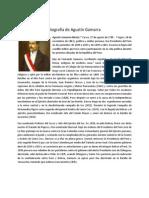 Biografía de Agustín Gamarra
