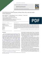 Dillehay Et Al 2012 a Late Pleistocene Human Presence at Huaca Prieta, Peru, And Early Pacific Coastal Adaptations