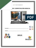 manual basico de computacion para niños de primaria
