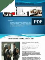 Presentacion Para Administracion de Proyectos