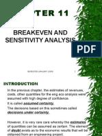 Engeco Chap 11 Breakeven and Sensitivity Analysis