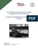 Actas II Simposio iberoamericano de estudios comparados sobre cine y audiovisual