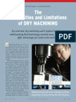 The Possibilities and Limitations of Dry Machining by Dr. Neil Canter