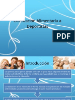Orientacion Alimentaria p Deportistas