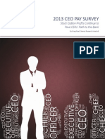 GMI Ratings 2013 CEO Pay Survey