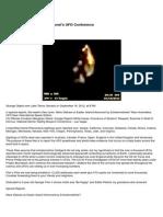 UFO - Filer's Files # 38 - 2012