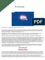 UFO - Filer's Files #44 - 2012