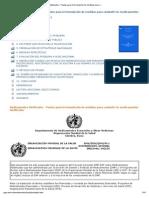 Medicamentos falsificados - Pautas para la formulación de medidas para combatir los medicamentos falsificados_ GLOSARIO