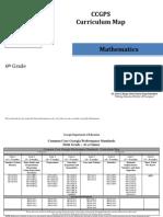 ccgps math grade6 curriculummap