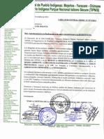 Agradecimientos TIPNIS a Activistas Bolivia