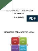 Kesehatan Bayi Dan Anak Di Indonesia
