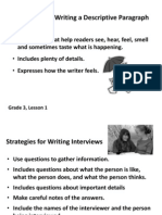 Third Grade Writing Rubrics 2011-09-13