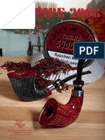 J.K LIN Handmade 13cm Ellipse Carved Wood Wooden Pipe Weed Tobacco Pipe