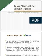 Normatividad Del SNIPPP
