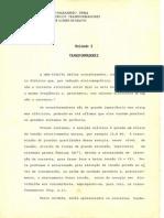 Apostila Transformadores - José Gomes de Matos