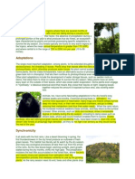 Dry Forest Ecology