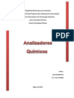 ANALIZADORES QUIMICOS