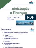 Administracao e Financas