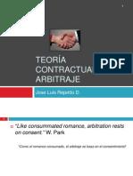 Teoría contractual del arbitraje