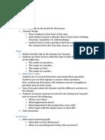 lesson breakdown 7english