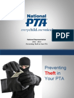 Preventing Theft in Your PTA