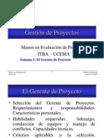 MEP Sema3 Gerente de Proyectos