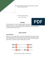 Informe de Laboratorio Superficiesequipotencialesy Lineas de Campoelectrico