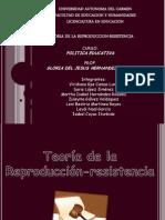 TEORIA REPRODUCCION RESISTENCIA