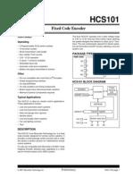 IC HCS101 Datasheet