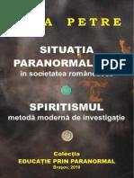 Nina Petre-Situatia Paranormalilor. Spiritismul