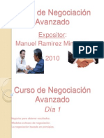 Curso de Negociación   Avanzado Dr. Ramirez-REV