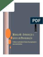Módulo 01 - Técnicas de Programação