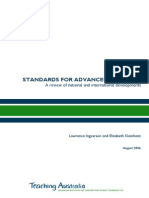 Standards for Advanced Teaching - A Review of National and International Developments