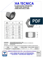 Ficha Tecnica t.h. Astm a-563 Dh Reforzada