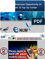 EnumX Business Opportunity of Merchant & Top Up Center
