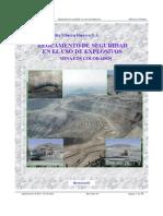 Cap Mineria Proveed Reglamento Seguridad Uso Explosivos Los Colorados