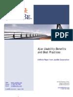 JackBe White Paper Ajax Best Practices