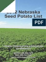 2012 ne seed potato list