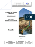 Programa de Fluidos Pichincha Re-Inyector 1