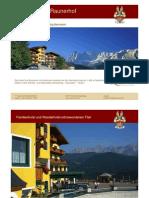 Hotel Schladming Pichl Raunerhof Impression En Urlaub Oesterreich