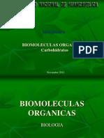 Bioelementos Organicos Carbohidratos-Clase