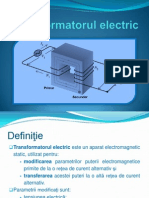 Transformatorutransformatorul_electricl Electric